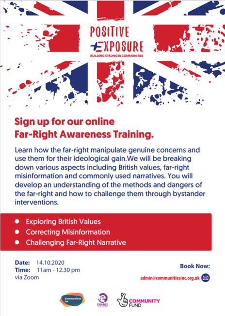 Far-Right Awareness Training Flyer
