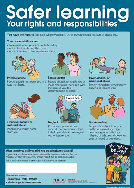 Safer Learning poster resources